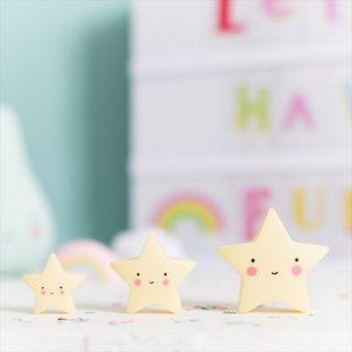 【a little lovely company】MINIS ミニフィギュア3個入り【クラウド・アイスクリーム・サン&ムーン・スター】  SALE