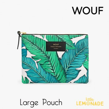 【WOUF!】 ラージポーチ 【Tropical】
