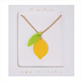 【Meri Meri】ネックレス 【Lemon・レモン】