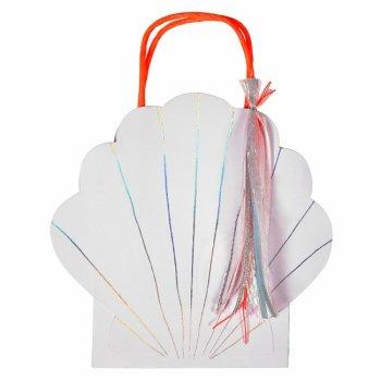 【Meri Meri】貝殻デザインのペーパーバッグ 1枚(45-2776)
