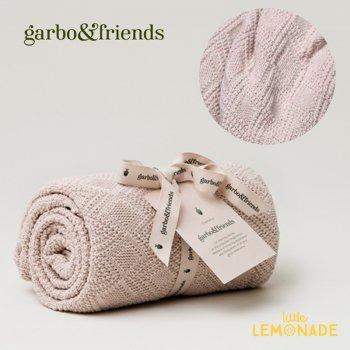 【garbo&friends ガルボ&ブレンズ】 コットンブランケット ピンク(GOF850)