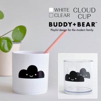 【BUDDY+BEAR バディーアンドベアー】ハッピークラウズ タンブラー (クリア:BBTW011 ホワイト:BBTW032) SALE