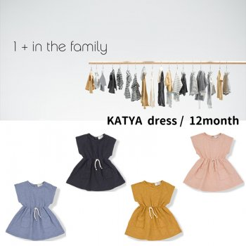 【1+ in the family】KATYA dress/ワンピース 12M(80cm) SS SALE YKZ