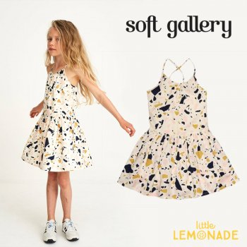 【Soft gallery】ワンピース 【4歳】ノースリーブ 子供服 女の子 子供 スカート (100-310-747) SS SALE YKZ