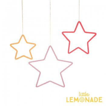 【Meri Meri メリメリ】ワイヤーウール モビール 3つのお星さま ハンギングデコレーション(30-0240/173449)