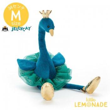 【Jellycat ジェリーキャット】 Fancy Peacock  ぬいぐるみ クジャク  (FA6P)