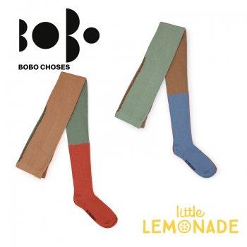 【BOBO CHOSES】マルチカラー ニット タイツ ジュニア(12.5-14cm/14.5-16cm 16.5-18cm)(218151) AW SALE