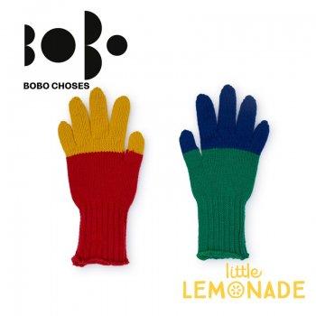 【BOBO CHOSES】6歳から7歳 手袋 マルチカラー ジュニア(218141)   AW  SALE YKZ