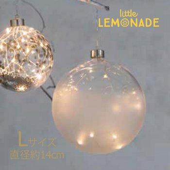 【Rader】LEDガラス製オーナメント 大【クリスマス 飾り オーナメント パーティー ドイツ】(0136-173)