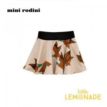 【Mini Rodini】 カモ柄 スカート 【116/122】 5-7歳    Ducks aop skirt AW SALE