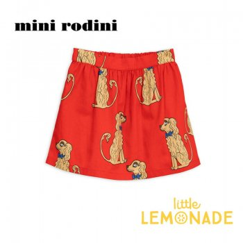 【Mini Rodini】コッカースパニエル スカート 【1.5-3歳/5-7歳】 Spaniels woven skirt AW SALE