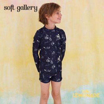 【Soft gallery】 宇宙デザイン スイムパンツ 水着 【2歳/4歳/6歳】 SWIM TRUNK スイムパンツ ショートパンツ 男の子 (149-477-805) SS SALE