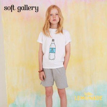 【Soft gallery】 ソーダ—ボトルデザイン Tシャツ 【2歳/4歳/6歳】 子供服 トップス T-SHIRT (452-001-599) SS SALE YKZ