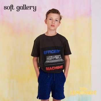 【Soft gallery】 machine print デザイン Tシャツ 【2歳/4歳/6歳】 子供服  T-SHIRT machine print (452-094-580) SS SALE