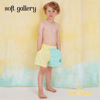 【Soft gallery】バイカラー トランクスタイプ 水着 【4歳/6歳/8歳】 SWIM PANTS block color(803-422-591) SS SALE
