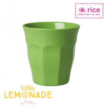 【RICE】メラミンカップ/アップルグリーン ミディアムサイズ 9cm (MELCU-AG)