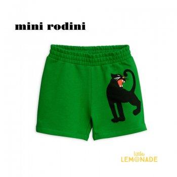 【Mini Rodini】 パンサー ショートパンツ 【1.5-3歳/3-5歳/5-7歳】 スウェット PANTHER SWEATSHORTS (1923014375) SS SALE