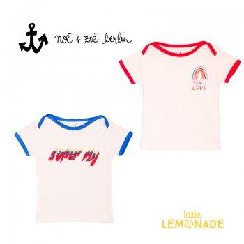 【Noe & Zoe】 SUPER FLY/RAINBOW  半袖 Tシャツ【18-24m】 ベビー 子供服 (S19018) SS SALE YKZ