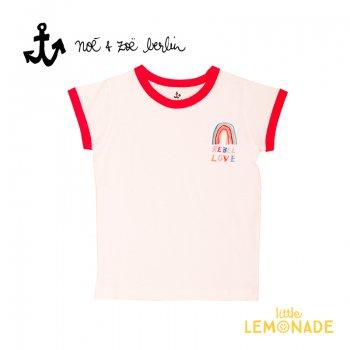 【Noe & Zoe】 レインボーデザイン 半袖 Tシャツ 【4歳/6歳/8歳】 (S19020) SS SALE
