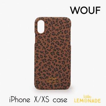 【WOUF】 iPhone X/XS 兼用ケース 【Savannah】レオパード柄 豹 ヒョウ柄 おしゃれ スマホケース iphone ケース カバー  (ICX190004)