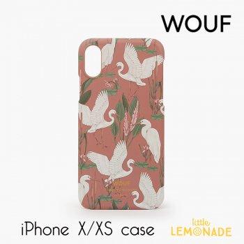 【WOUF】 iPhone X/XS 兼用ケース 【Sunset Lagoon】鳥 南国 サンセット ラグーン スマホケース iphone ケース カバー  (ICX190003)
