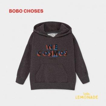 【BOBO CHOSES】 WE COSMOS HOODED パーカー 【4-5歳/6-7歳/8-9歳】 フード付き スウェットシャツ ボボショーズ AW SALE