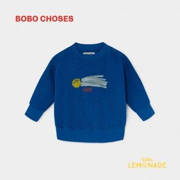 【BOBO CHOSES】 A STAR CALLED HOME SWEATSHIRT 流れ星 デザイン スウェット 12M/24M/36M  ベビー服 ボボショーズ   AW SALE