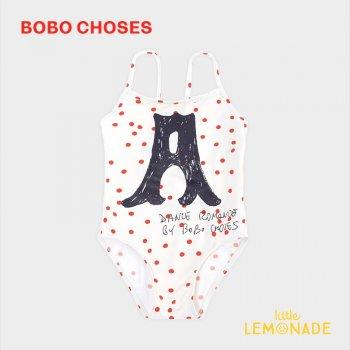 【BOBO CHOSES】 A Dance Romance 水着 ワンピース【4-5歳/6-7歳/8-9歳】 Dots Swimsuit 女の子 12001155  20SS SALE