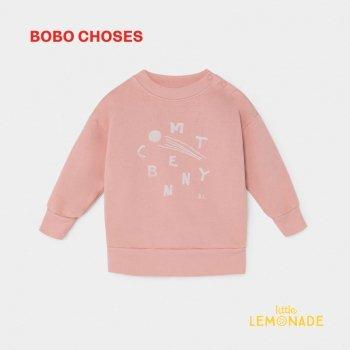 【BOBO CHOSES】 COMET BENNY SWEATSHIRT 彗星ベニー 12m/24M/36M ベビー服 ボボショーズ  AW SALE