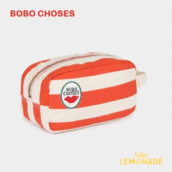 Red Stripes Pouch【BOBO CHOSES】ポーチアクセサリー 化粧ポーチ 12011010  20SS SALE