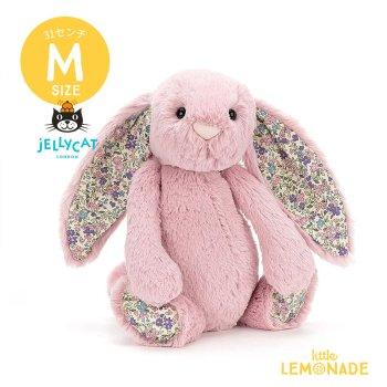 【Jellycat】 Blossom Tulip Bunny Mサイズ  花柄×ピンク うさぎ バニー ぬいぐるみ ジェリーキャット (BLN3BTP)  【正規品】