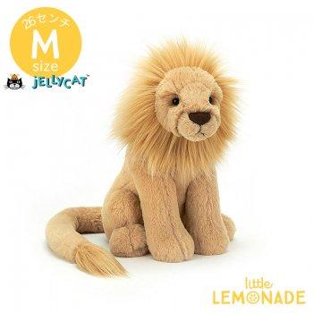 【Jellycat】 Leonardo Lion Mサイズ ライオン レオナルド ぬいぐるみ プレゼント (LEO3L)  【正規品】