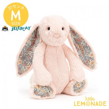 <img class='new_mark_img1' src='https://img.shop-pro.jp/img/new/icons55.gif' style='border:none;display:inline;margin:0px;padding:0px;width:auto;' />【Jellycat】 Blossom Blush Bunny Mサイズ 花柄×ブラッシュ うさぎ バニー ぬいぐるみ ジェリーキャット (BL3BLU)  【正規品】