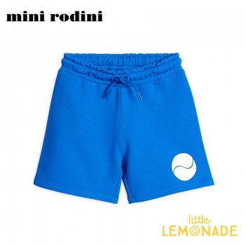 【Mini Rodini】ブルースウェット ハーフパンツ 【1.5-3歳/3-5歳/5-7歳/7-9歳】  Game sp sweatshorts BLUE(20230145)  20SS SALE