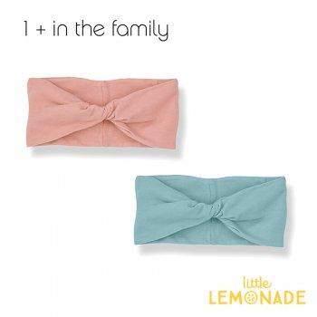 【1+ in the family】 ベビー ヘアバンド ADRIANA bandeau  ROSE/MINT 女の子 子供(376410391) YKZ
