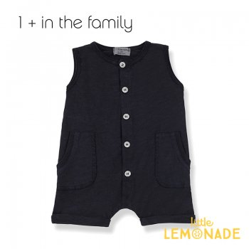 【1+ in the family】 ロンパース TROIA romper 【9か月/12か月/18か月】BLUE NOTTE ユニセックス (376411331) 20SS  SALE YKZ