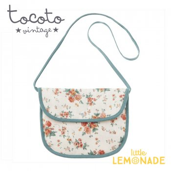 【Tocoto Vintage】Flowers shoulder little bag  花柄 ポシェット 肩掛けバッグ(S72920) 20SS SALE YKZ