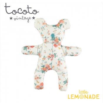 【Tocoto Vintage】Flower print Bear 花柄くまのぬいぐるみ ベア(S73120) YKZ SALE