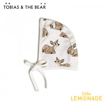 【Tobias & The Bear】 小鹿 ボンネット帽 子 【0-6/6-12か月】 ベビー帽 Fawn bonnet (FAWB)