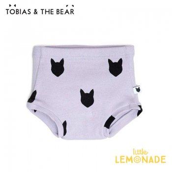 【Tobias & The Bear】 ライラック フォックス ショーツ・ブルマ 【3-6/6-12/12-18か月】 ボトムス Lilac Fox bloomers  (LIFOXBL)