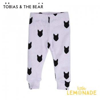 【Tobias & The Bear】 ライラック フォックス レギンス 【6-9/9-12/12-18/18-24/24-36か月】  Lilac Fox leggings   (LIFOXL)