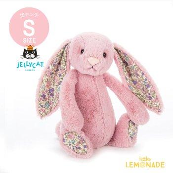 【Jellycat】 Blossom Tulip Bunny Sサイズ ピンク×耳 花柄 バニー うさぎ ぬいぐるみ ジェリーキャット (BLSN6BTP)