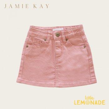 【Jamie Kay】 Mini Denim - Rose【1歳/2歳/3歳】 ローズ ピンク スカート ミニスカート デニム   AW SALE
