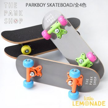 【THE PARK SHOP】 PARKBOY スケートボード【ホワイト】 PARKBOY SKATEBOARD white (PSG-09)