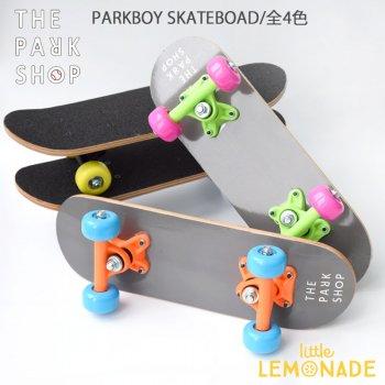 【THE PARK SHOP】PARKBOY スケートボード【全4色】 ホワイト レッド ブルー イエロー PARKBOY SKATEBOARD white red blue yellow