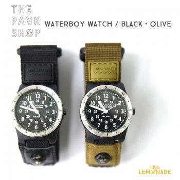 【THE PARK SHOP】WATERBOY WATCH 【ブラック ・ オリーブ 】 子供用腕時計 (TSP-90)