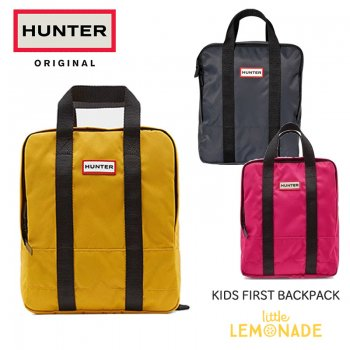 【HUNTER】KIDS ORIGINAL FIRST BACKPACK キッズ ファースト バックパック 2-6歳 JBB1119KBM 【YELLOW/BRIGHT PINK/NAVY】
