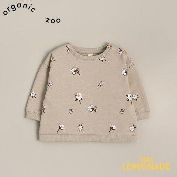 【organic zoo】 Cotton Field Sweatshirt コットンフラワー 3-6か月/6-12か月/1-2歳/2-3歳/3-4歳 スウェット  (FBSOZ) 20AW