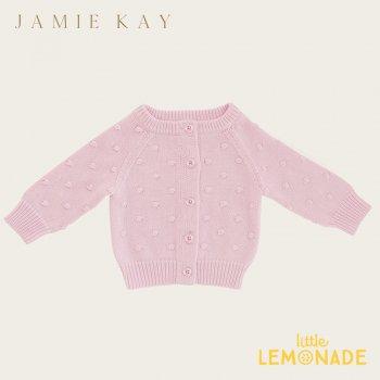【Jamie Kay】 DOTTY CARDIGAN - LILAC 【2歳/3歳/4歳/5歳/6歳】 ニット カーディガン ライラック ドット AW SALE