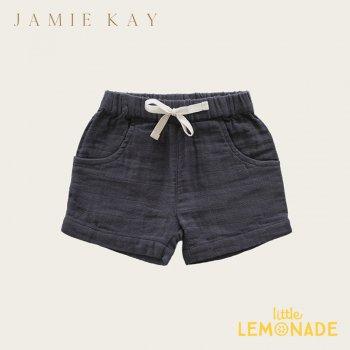 【Jamie Kay】  LILY SHORT - PEBBLE 【1歳/2歳/3歳/4歳/5歳/6歳】 ボトムス ネイビー ショートパンツ  AW SALE